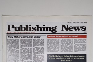 Publishing News is one of many organisations who appear on our Archives Catalogue